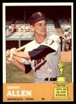 1963 Topps #427  Bernie Allen  Front Thumbnail