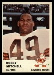 1961 Fleer #12  Bobby Mitchell  Front Thumbnail