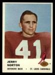 1961 Fleer #26  Jerry Norton  Front Thumbnail