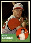 1963 Topps #21 xSTR Marty Keough  Front Thumbnail