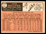 1966 Topps #597  John Sullivan  Back Thumbnail