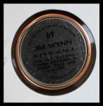 1971 Topps Coins #69  Jim Wynn  Back Thumbnail
