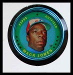 1971 Topps Coins #135  Mack Jones  Front Thumbnail