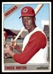 1966 Topps #391  Chuck Hinton  Front Thumbnail