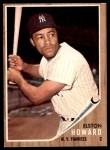 1962 Topps #400  Elston Howard  Front Thumbnail