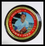 1971 Topps Coins #56  Tommy John  Front Thumbnail
