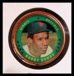 1971 Topps Coins #13  Bobby Bonds  Front Thumbnail