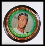 1971 Topps Coins #61  Orlando Cepeda  Front Thumbnail