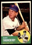 1963 Topps #78  Marv Throneberry  Front Thumbnail