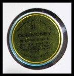 1971 Topps Coins #31  Don Money  Back Thumbnail