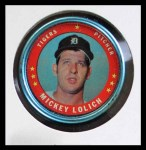 1971 Topps Coins #106  Mickey Lolich  Front Thumbnail