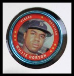 1971 Topps Coins #130  Willie Horton  Front Thumbnail