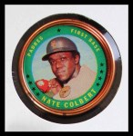1971 Topps Coins #77  Nate Colbert  Front Thumbnail