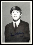 1964 Topps Beatles Black and White #160  Paul McCartney  Front Thumbnail