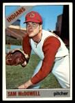 1966 Topps #470  Sam McDowell  Front Thumbnail