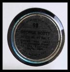 1971 Topps Coins #98  George Scott  Back Thumbnail