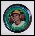 1971 Topps Coins #47  Matty Alou  Front Thumbnail