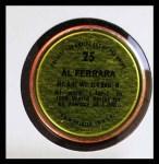 1971 Topps Coins #25  Al Ferrara  Back Thumbnail