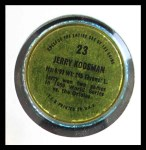 1971 Topps Coins #23  Jerry Koosman  Back Thumbnail