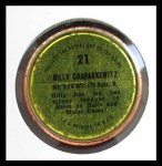 1971 Topps Coins #21  Billy Grabarkewitz  Back Thumbnail