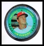 1971 Topps Coins #3  Jim Bunning  Front Thumbnail