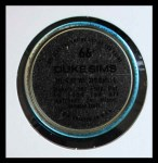 1971 Topps Coins #66  Duke Sims  Back Thumbnail
