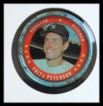 1971 Topps Coins #138  Fritz Peterson  Front Thumbnail