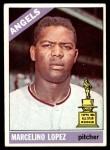 1966 Topps #155  Marcelino Lopez  Front Thumbnail