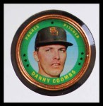 1971 Topps Coins #49  Danny Coombs  Front Thumbnail