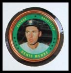 1971 Topps Coins #89  Denis Menke  Front Thumbnail