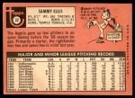 1969 Topps #32  Sammy Ellis  Back Thumbnail