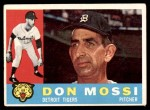 1960 Topps #418  Don Mossi  Front Thumbnail
