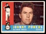 1960 Topps #422  John Powers  Front Thumbnail