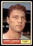 1961 Topps #195  Jerry Casale  Front Thumbnail