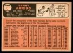 1966 Topps #357  Gerry Arrigo  Back Thumbnail