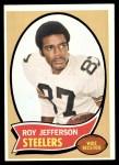 1970 Topps #205  Roy Jefferson  Front Thumbnail