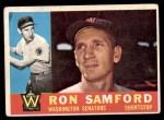 1960 Topps #409  Ron Samford  Front Thumbnail