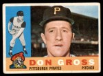 1960 Topps #284  Don Gross  Front Thumbnail