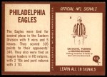 1967 Philadelphia #133   Eagles Team Back Thumbnail