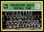 1967 Philadelphia #133   Eagles Team Front Thumbnail