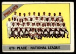 1966 Topps #463   Phillies Team Front Thumbnail