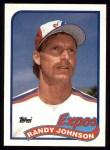 1989 Topps #647  Randy Johnson  Front Thumbnail