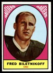 1967 Topps #106  Fred Biletnikoff  Front Thumbnail