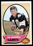 1970 Topps #215  Dan Abramowicz  Front Thumbnail