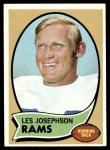 1970 Topps #253  Les Josephson  Front Thumbnail