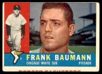 1960 Topps #306  Frank Baumann  Front Thumbnail
