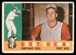 1960 Topps #257  Gordy Coleman  Front Thumbnail