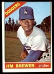 1966 Topps #158  Jim Brewer  Front Thumbnail