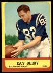 1963 Topps #4  Ray Berry  Front Thumbnail