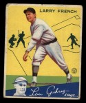 1934 Goudey #29  Larry French  Front Thumbnail